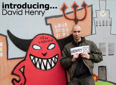 David Henry in Salford