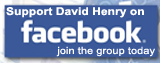 Join David Henry's Campaign on Facebook!