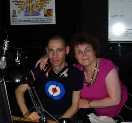 Christine Burns MBE with David Henry Live on Manchester Radio Online 6th June 2010