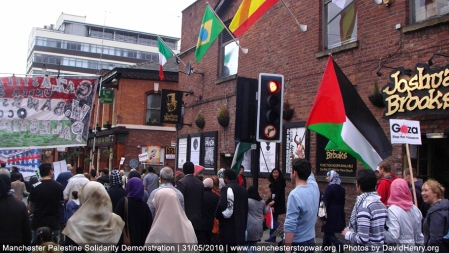 Protests against human rights abuses in the middle east go global