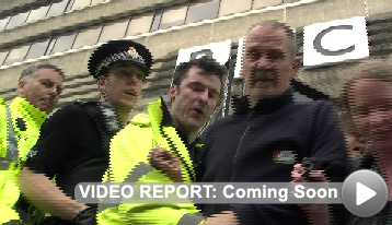 Video Report - Gaza Protest Manchester BBC