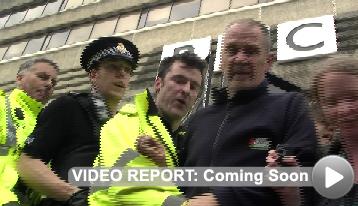 Video Report - Gaza Protest Manchester BBC